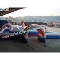 Buy cheap Water-proof Inflatable Sports Games , Inflatable Car Race Track product