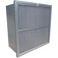 Buy cheap Rigid Deep Pleated HEPA Air Filter GL Frame Filtration Efficiency F9 F8 F7 product