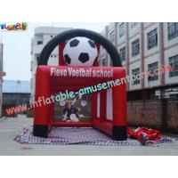 Buy cheap Durable PVC tarpaulin Inflatable Football field Fun Sports Games for Rent product