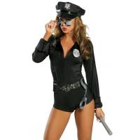 Buy cheap High Quality Halloween Sexy Police Costumes My Way Patrol Cop Costume for Party Adult from wholesalers