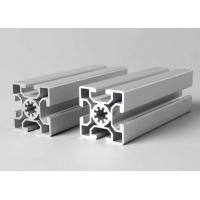 China T-slot aluminum extrusion profiles Steel Polished Suface Treatment / For Conveyor on sale