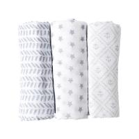 Buy cheap 47 X 47 Inch Baby Swaddle Blankets , Newborn Swaddle Blankets For Spring / from wholesalers