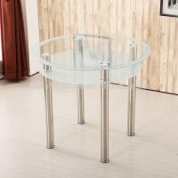 Buy cheap Stylish Round Glass Coffee Table For Hotel / Restaurant / Banquet product