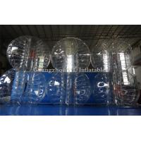 China TPU Inflatable Adult Bubble Ball red blue orange clear on sale