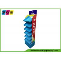 China POS Retail Six Shelf Corrugated Cardboard Displays , Fully Printing Retail Display Stands For Drawing Pens FL180 on sale