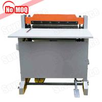 Buy cheap NO MOQ high speed heavy duty paper punch machine manufacturer print shop use hole punching and perforating machine product