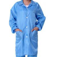Buy cheap Safety ESD Anti Static Clean Room Garments For Optical Production Workshop product
