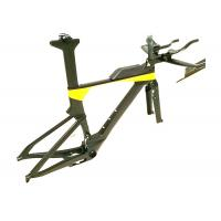 Buy cheap Di2 Compatible T700 Carbon Triathlon Bike Frame BB86 TRP-TR02 Brake Type product