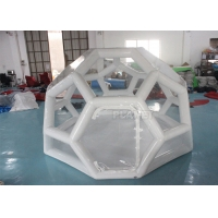 Buy cheap Airtight 4M Football Shaped Inflatable Bubble House product
