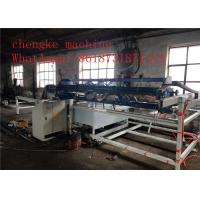Buy cheap Automatic Swing Wire Fence Mesh Welding Machine Construction welding machine product