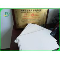 Buy cheap 210-350g C1S Single Side Coated Ivory Board Paper For Album / Calendar from wholesalers