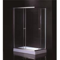 Buy cheap Free Standing 1200 X 800 Rectangular Shower Enclosure With Tray Center Drain product