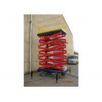 Buy cheap Aluminum Alloy Mobile Aerial Work Platform 6m Max Height For Warehouses product
