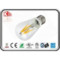 Buy cheap Energy saving A19 A60 LED Filament Bulb , 6W led filament lamp for museum lighting product