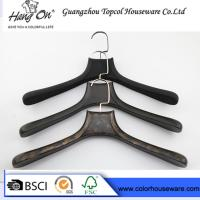 Buy cheap ABS fashion plastic hanger coat hanger man's clothes hanger from wholesalers