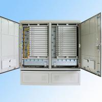 Buy cheap IP 65 576FO Street Fiber Optic Joint Box Cabinet Stainless steel SMC Housing product