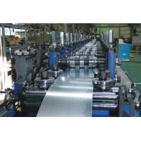 Buy cheap G.I Coil / Carbon Purlin Roll Forming Machine With Touch Screen product