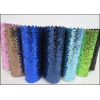 "54"" Width Glitter Colorful Metallic Glitter Fabric For Wall Paters And Crafts"