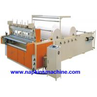 China Coloured Toilet Paper Making Machine , Toilet Paper Converting Machine on sale