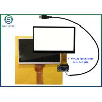 Buy cheap G + G Structure 7 Inch Capacitive Touch Screen With USB Interface For Innolux AT070TN92 product