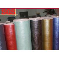 Buy cheap Waterproof Metallic Coating Laminated Non Woven Fabric Roll Multi Color Available product
