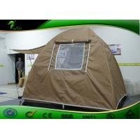 Buy cheap Folding Canopy Tent , Khaki Outdoor Traveling Waterproof Camping Tent product