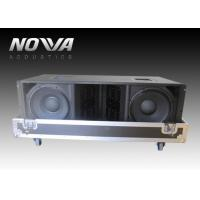 Buy cheap Double 12 Inch Jbl Line Array Speakers , Three Way Stage Sound Equipment from wholesalers