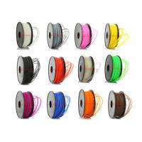 China Colored 3D Printer ABS Filament Oil Based 1.75mm / 3mm SGS ROHS on sale