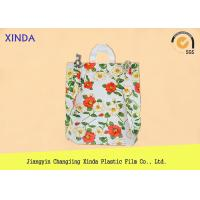 Buy cheap High-Density 30*40cm die cut handle strong medium orange bags for snack gift pack product