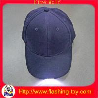 Buy cheap 100% Cotton Customized promotional Gift LED Flashing Cap, Hats HL-B5122 product