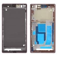 Buy cheap Front Frame Cover Housing for Sony Xperia Z1, L39, C6902, C6903, C6943 Black product