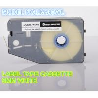 Buy cheap 9mm white label printer tape , aerospace cable ID tape cassette from wholesalers