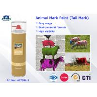 Buy cheap Waterproof Spray Animal Marking Spray Paint product