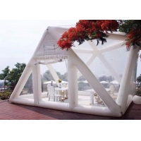 Buy cheap Portable Large Clear Bubble House Inflatable Triangle Transparent PVC Inflatable Camping Tent product