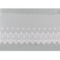 Buy cheap Embroidered Nylon Dying Lace Fabric Bilateral Symmetry Lace For Wedding Dresses product