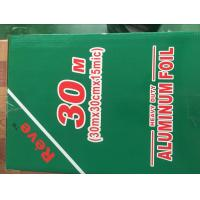 Buy cheap Disposable Household Aluminium Foil 10mic - 25mic Thickness Silver Color product