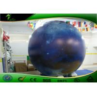 Buy cheap Inflatable Advertising LED Helium Balloons / Inflatable Moon Balloon EN71 product