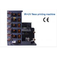 Buy cheap 6 colors ir and uv single station flexo printing machine product