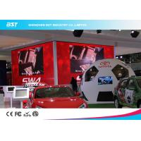Buy cheap Custom Aluminum  P3.91 HD Black LEDs Indoor Advertising Led Display Screen for Auto Show product