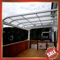 China outdoor gazebo patio corridor aluminum alloy metal awning canopy for window door-super durable house villa hotel shelter on sale