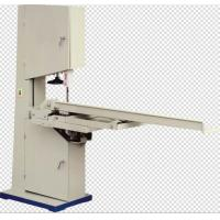 Buy cheap Manual Band Saw Toilet Paper Cutting Machine , Toilet Paper Roll Cutting Machine product