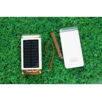 Quality Ultrathin Solar Powered Battery Charger With Micro Solar Panel 6000mah 8000mah for sale