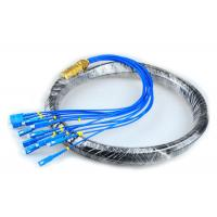 Buy cheap CATV Network Optical Fiber Pigtail 12 Core Fiber Outdoor SC Pigtail Waterproof product