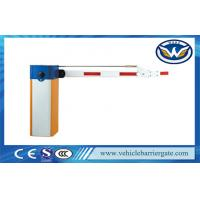 Buy cheap Single Bar Manual Release Electric Barrier Gate With 180 Degree Folding Arm product