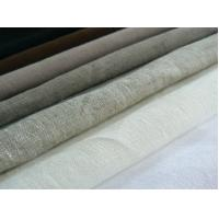 100% LINEN FABRIC PLAIN DYED  WITH SOLID COLOURS    CWT #2008