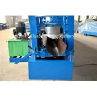 Buy cheap Steel Rain Gutter Cold Aluminum Metal Roofing Sheet Roll Forming Machine Iso product