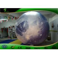 Buy cheap Attractive Outdoor Planet Moon Inflatable Advertising Balloons for Decoration product