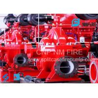 Buy cheap NFPA Standard Double Suction Split Case Pump Centrifugal 2500GPM@135PSI product