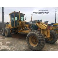 Buy cheap Stable Performance Used Motor Graders , Used Cat Grader Operate Easily product