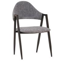 Buy cheap Comfortable PU Leather Metal Dining Chair For Coffee Bar / Restaurant product